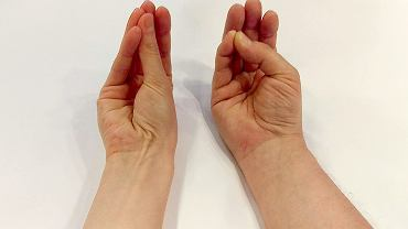 Porównanie dwóch rąk