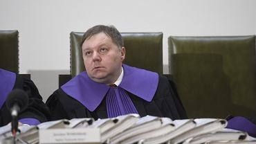 Jarosław Wyrembak jeszcze jako sędzia Trybunału Stanu