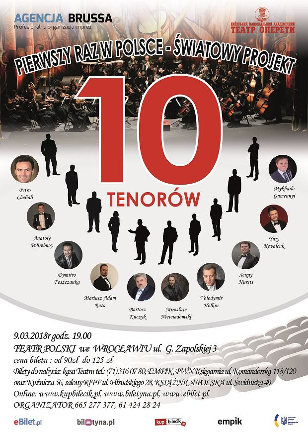 10 Tenorów - Wrocław