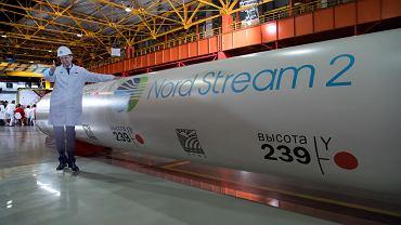 Szef Gazpromu Aleksiej Miller wizytuje fabrykę rur (do rurociągu Nord Stream 2). Czelabińsk, 12 maja 2016