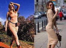 Ta sukienka idealnie podkreśla figurę! Zawadzka i Lewandowska już ją pokochały. U nas podobne, ale tańsze modele