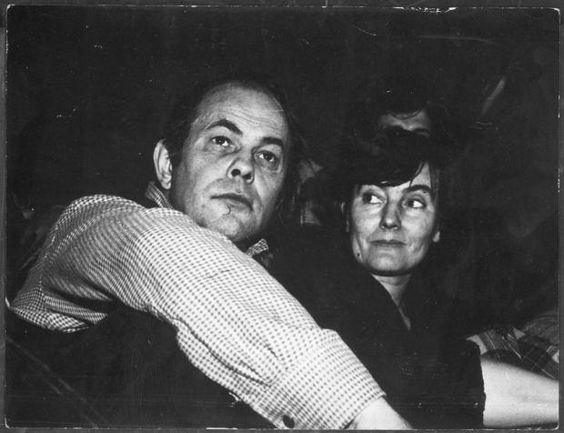 Jacek i Gajka Kuroniowie, 1981 r.