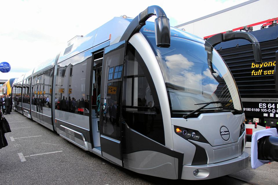 SilkWorm, pierwszy tramwaj Durmazlara, prezentowany na targach w Berlinie w 2012 r.