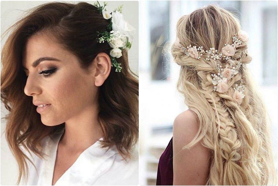 20bc2d41a0 Najmodniejsze fryzury na wesele i ślub. Zobacz najciekawsze upięcia dla  długich i krótkich włosów