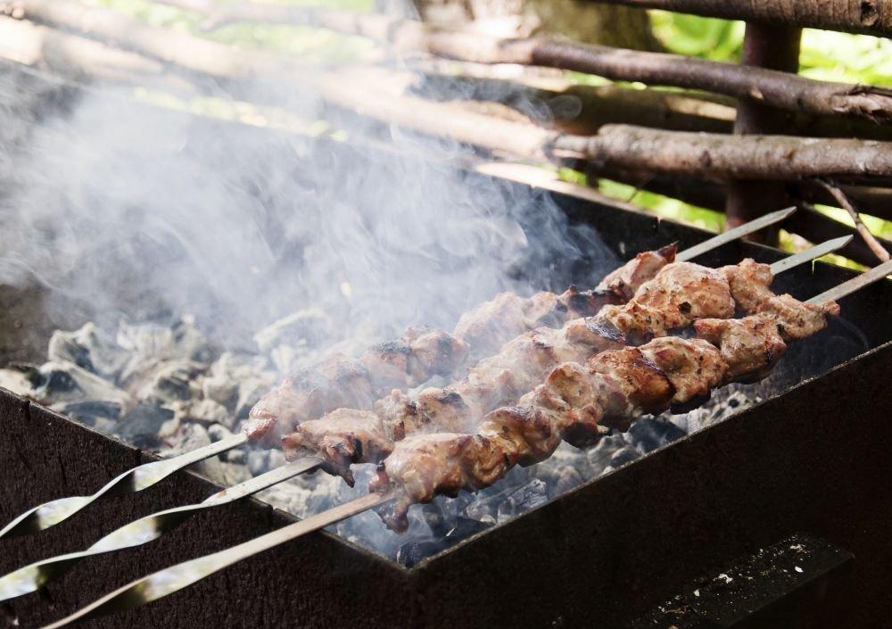 Dymiący grill
