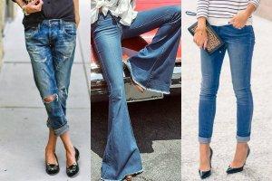 Wybierz jeansy idealne dla Twojej figury