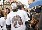 Marsz antysmogowy w Krakowie pod hasłem 'Majchrowski Przestań Truć'