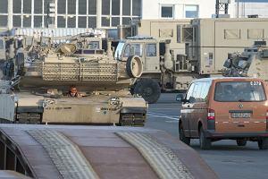 USA rozpoczęły przerzut 4 tys. żołnierzy. Brygada pancerna zmierza do Polski
