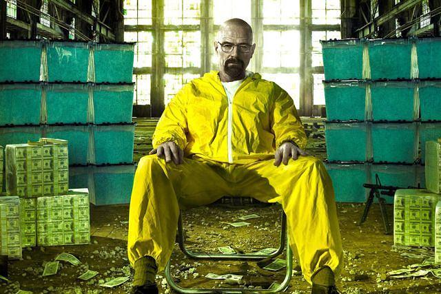 Bryan Cranston jako Walter White - budzący skrajne emocje bohater