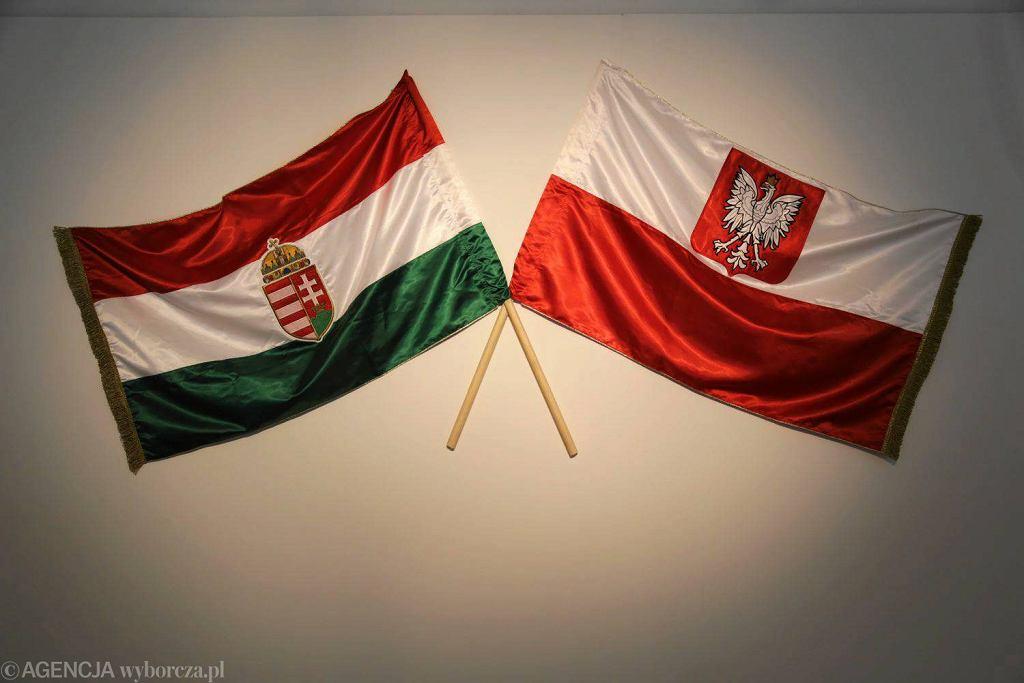 Wystawa 'Węgry 1956. Twarze i przedmioty' przygotowana została przez Węgierski Instytut Kultury, Dom Spotkań z Historią i Instytut Europejskiej Sieci Pamięć i Solidarność w partnerstwie z Muzeum Podlaskim w Białymstoku / AGNIESZKA SADOWSKA