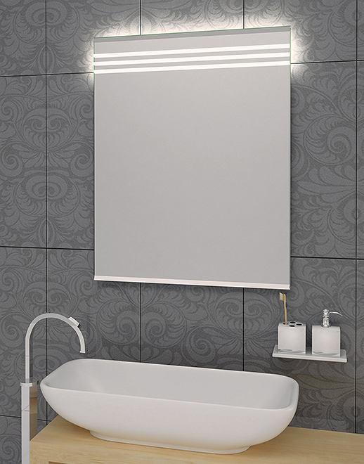 Lustro łazienkowe Lines LED