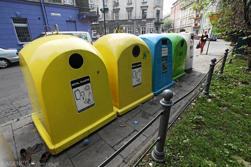 Kubły do segregacji odpadów