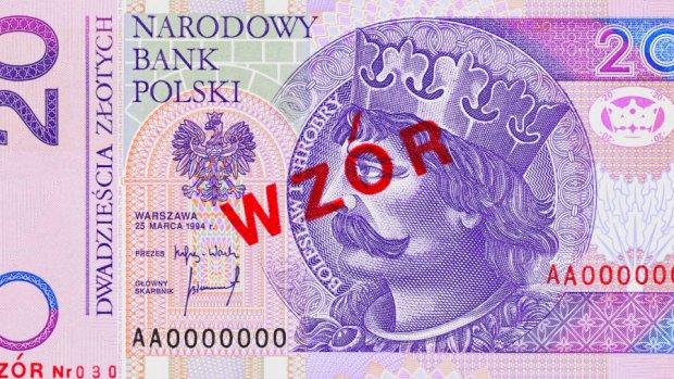 Banknot 20-z�otowy