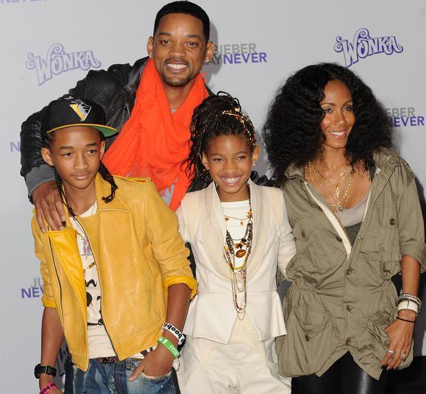 Will Smith z rodziną
