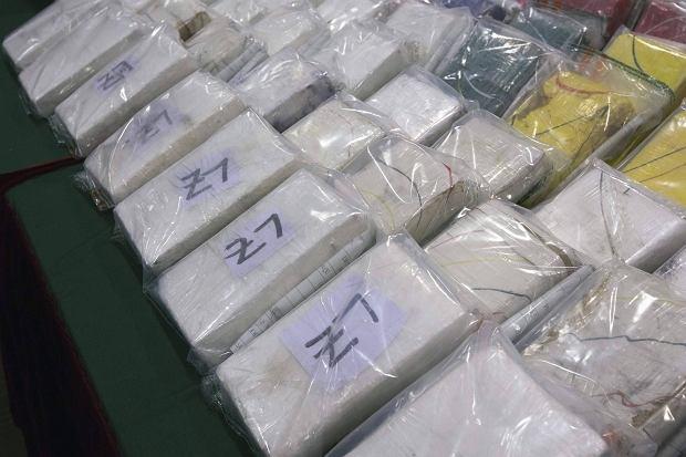 Paczki z kokain�