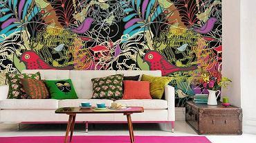 Mocny akcent na ścianie całkowicie odmieni wnętrze
