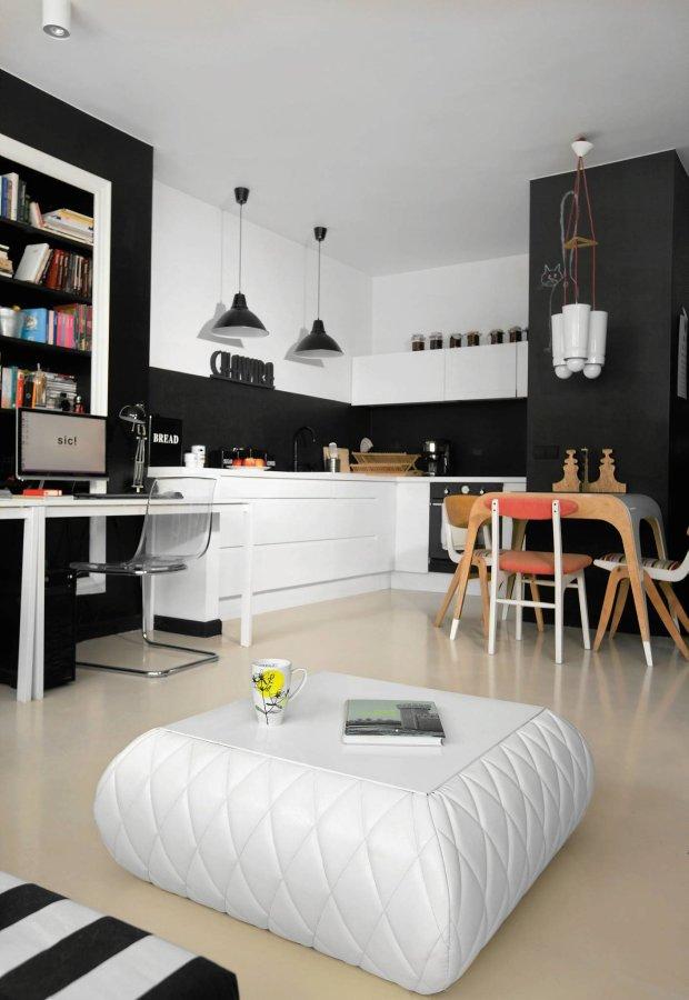 Czarno Biale Mieszkania Bez Nudy Przeglad Waszych Wnetrz