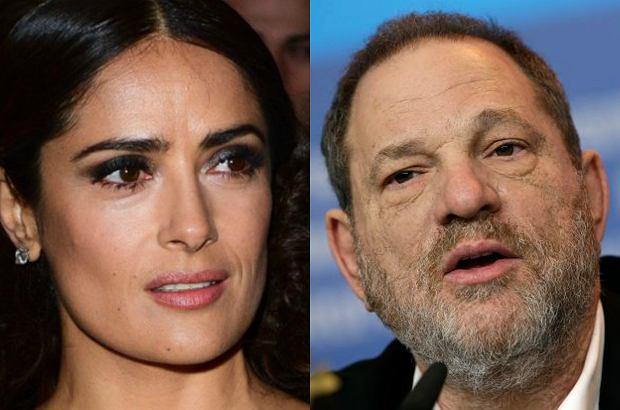 Salma Hayek wyznała, że jest kolejną ofiarą producenta Harvey'a Weinsteina. Teraz on odpowiada na jej zarzuty.