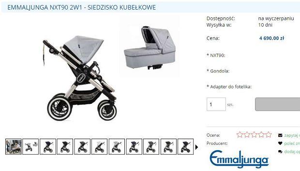 Wózek Otylii Jędrzejczak