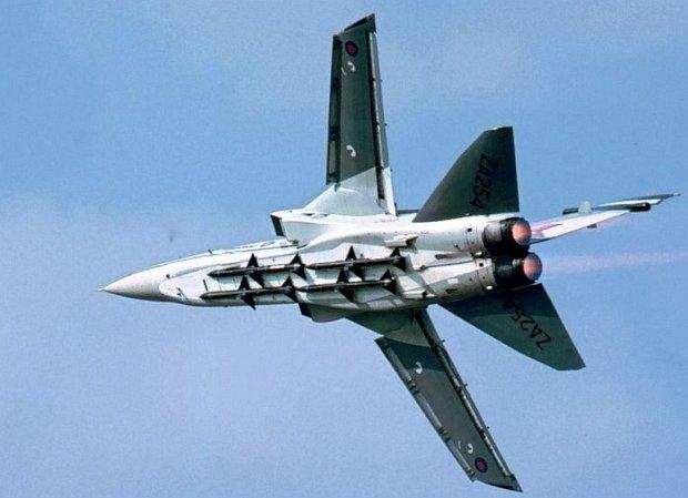 Dwa samoloty Tornado zderzy�y si� nad W�ochami. Zagin�o czterech pilot�w