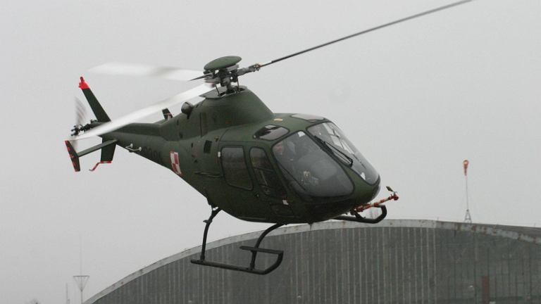 Pokaz śmigłowca SW-4 w wersji dla wojska