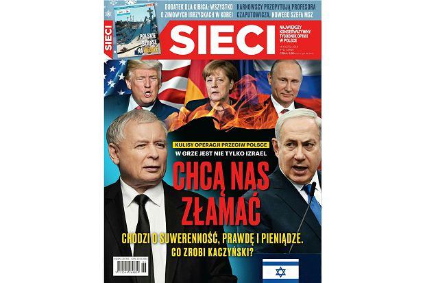 """Tygodnik """"Sieci"""" moralnie degraduje Polskę [TA NIEZNOŚNA POLITYKA]"""