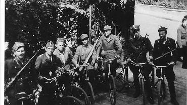 Oddział milicjantów z AK w Czarnym Borze