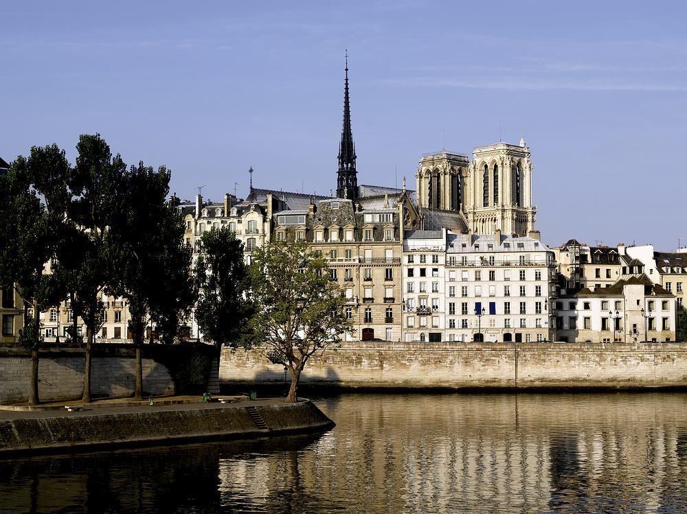 Paryż, Francja,Ile de la Cité, Ile Saint-Louis