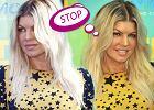 Wpadka: Fergie i jej platynowy blond z odrostami