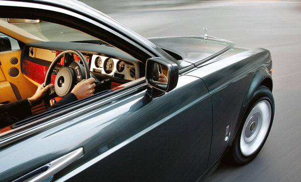 luksusowy samochód, rolls-royce