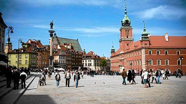 Warszawska Starówka - Kolumna Zygmunta