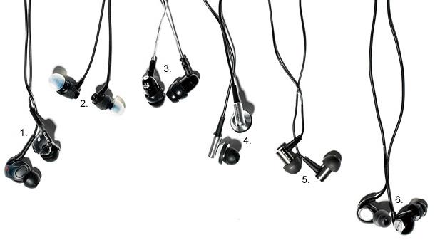 słuchawki, dokanałowe