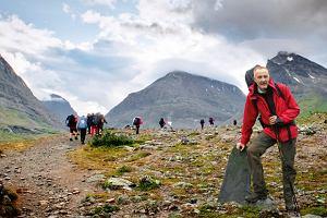 110 km marszu za kr�giem polarnym