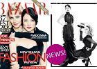Prosto z okładki: Madonna w Harper's Bazaar