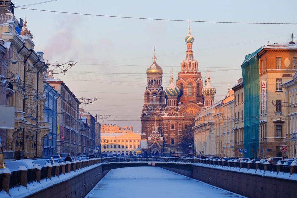 Rosja. Petersburg zimą / fot. Shutterstock