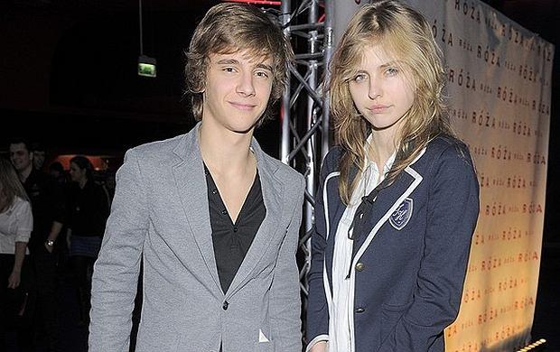 Maciej Musia� i Nadia Modzelewska.