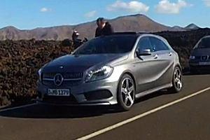 Salon Genewa 2012 | Mercedes A-klasa przyłapany bez kamuflażu