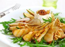 Sałatka z rukoli, gruszki i orzechów włoskich - ugotuj