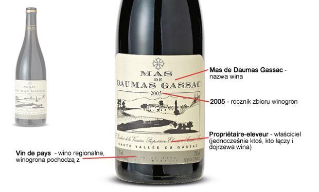 jak czyta� etykiety wina regionalne