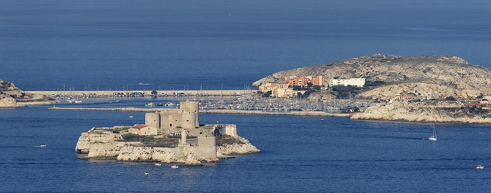 Zamek (więzienie) d'If, Marsylia, Francja