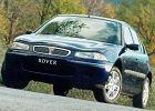 ROVER 200 96-00, rok produkcji 1996, coupe, widok przedni lewy, samoch�d 5-drzwiowy, kolor niebieski jasny
