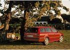 SKODA Octavia Kombi 00-11, rok produkcji 1998, kombi, widok przedni prawy, samochód 5-drzwiowy, kolor czerwony jasny