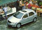 SKODA Fabia Hatchback 00-04 2000 coupe topview front - Zdjęcia