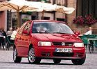 VOLKSWAGEN Polo III Hatchback 94-00, rok produkcji 1995, coupe, widok przedni prawy, samoch�d 3-drzwiowy, kolor czerwony jasny