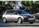 TOYOTA Corolla Hatchback 02-04, rok produkcji 2002, coupe, widok przedni prawy, samoch�d 5-drzwiowy, kolor czarny