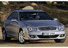 MERCEDES-BENZ CLK Coupe [C 209] 05-08, rok produkcji 2005, coupe, widok przedni prawy, samoch�d 2-drzwiowy, kolor silver grey