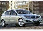 OPEL Astra III Hatchback 07-10, coupe, widok przedni prawy, samoch�d 5-drzwiowy, kolor silver grey