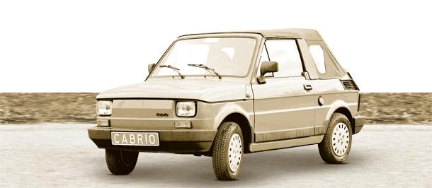 PRL, fso, Fiat 126p, cabrio