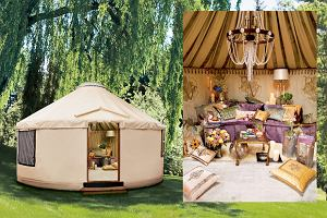 Namiot na bogato