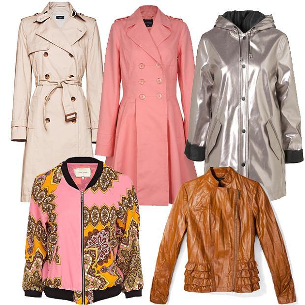 Wiosenne kurtki i p�aszcze